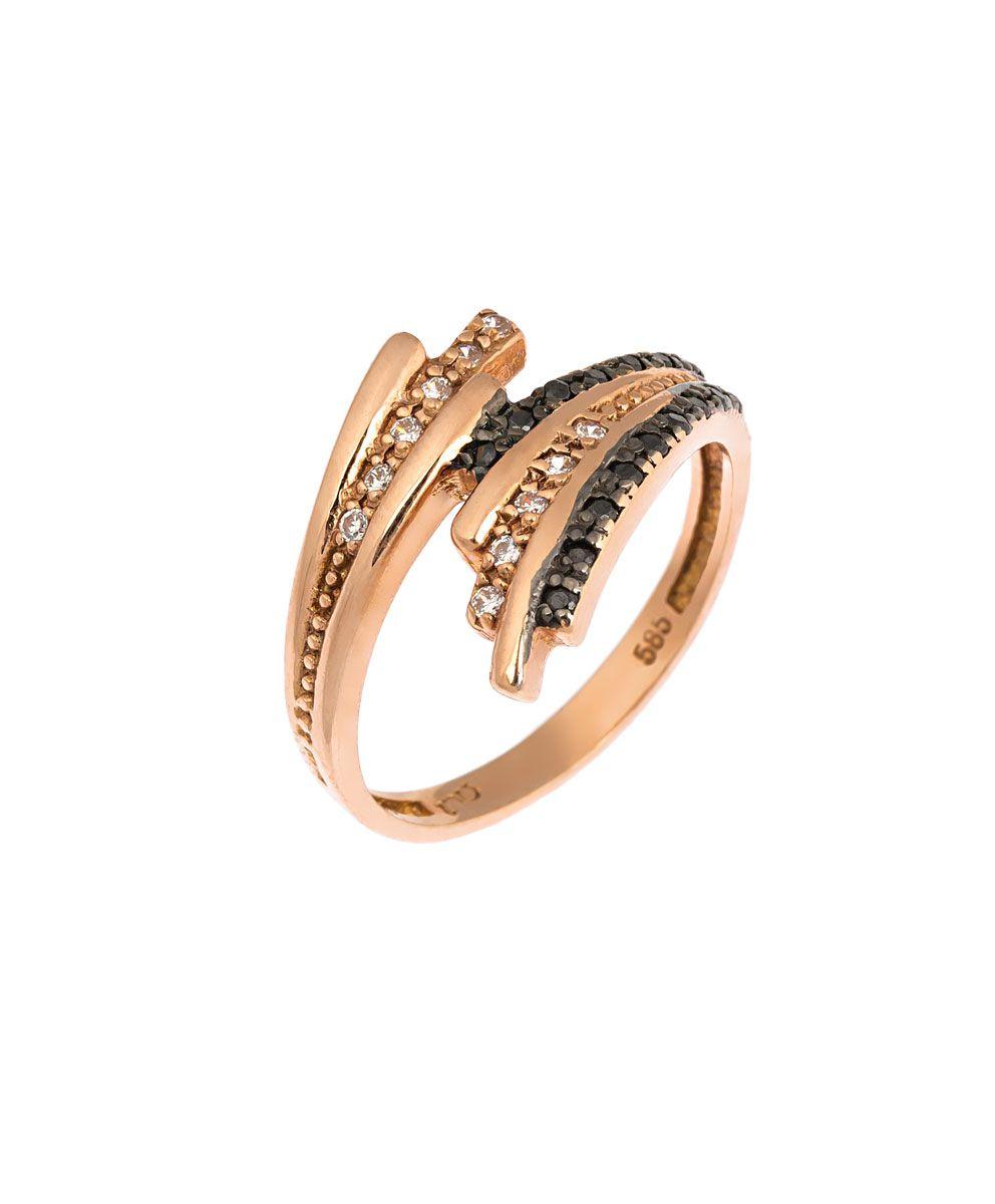 Ροζ χρυσό δαχτυλίδι - Seferos 89b0989bf72