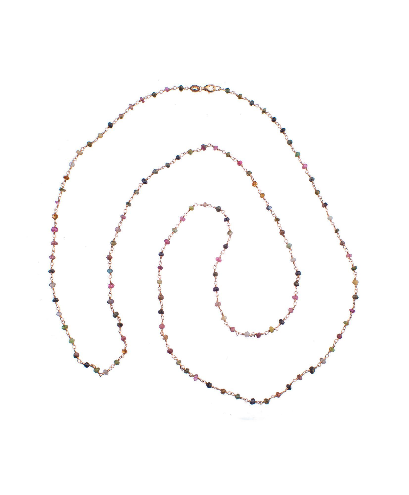 Ασημένιο ροζάριο με πολύχρωμες πέτρες - Seferos 4471f9efee1