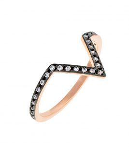 δαχτυλίδι ροζ V