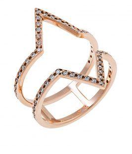 δαχτυλίδι ethnic ροζ χρυσό