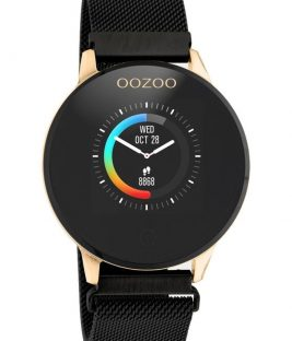 OOZOO Smartwatch Black Stainless Bracelet Q00118