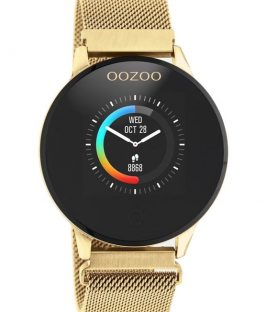 OOZOO Smartwatch Gold Stainless Bracelet Q00121