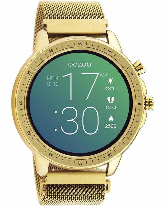 OOZOO Smartwatch Gold Metal Mesh Bracelet Q00306