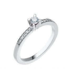 ΜΟΝΟΠΕΤΡΟ δαχτυλίδι με διαμάντια