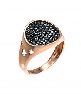 Δαχτυλίδι σεβαλιέ αστέρια