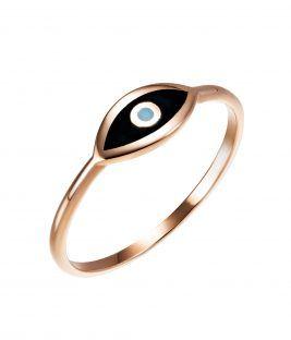 Δαχτυλίδι μάτι σμάλτο