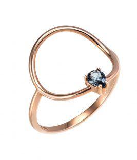 Δαχτυλίδι ροζ Circle Rock