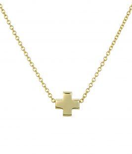 Κολιέ μικρός σταυρός