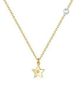 Κολιέ αστέρι 14Κ