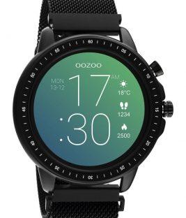 OOZOO Smartwatch Black Metal Mesh Bracelet Q00309