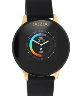 OOZOO Smartwatch Black Rubber Strap Q00120