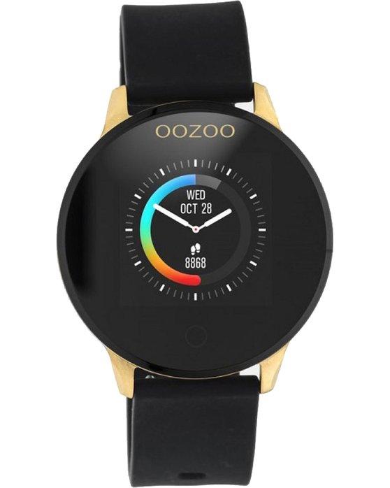 OOZOO Smartwatch Black Rubber Strap Q00120
