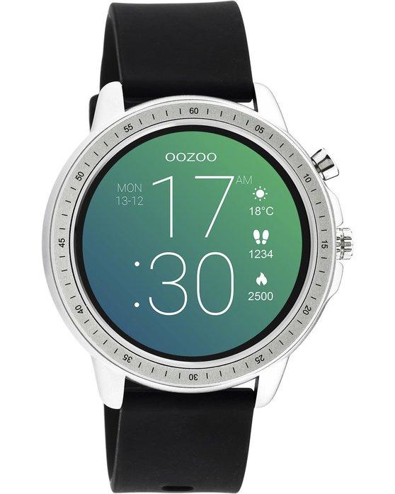 OOZOO Smartwatch Black Rubber Strap Q00300