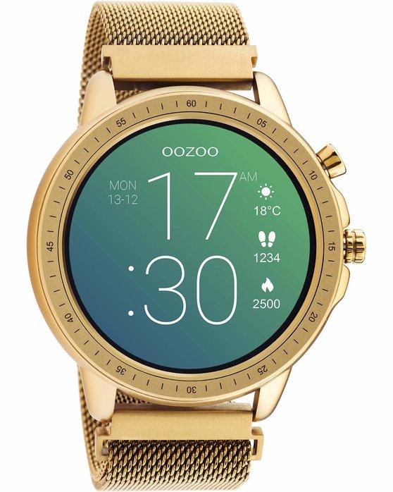 OOZOO Smartwatch Rose Gold Metal Mesh Bracelet Q00307