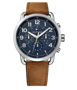 Tommy HILFIGER Brown Leather Strap 1791424