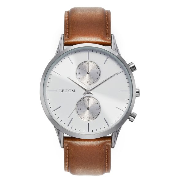 le-dom-andriko-roloi-prime-lbrown-leather-silver